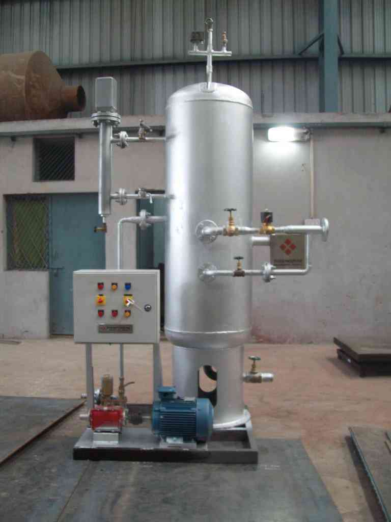Pressurised Condensate Recovery Module - Waste Heat Recovery
