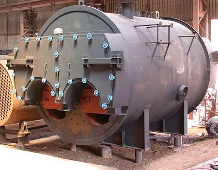 Intech | Three Pass Internal Furnace Packaged Boiler |Thermodyne Boilers