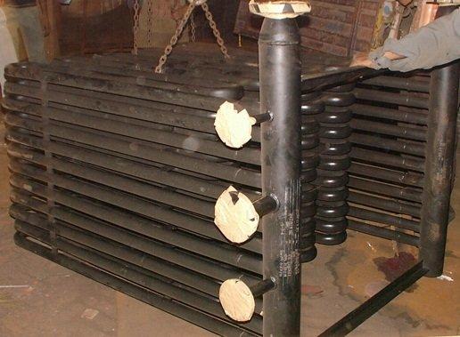Boiler Economiser ( economizer ) Coil used in Boilers