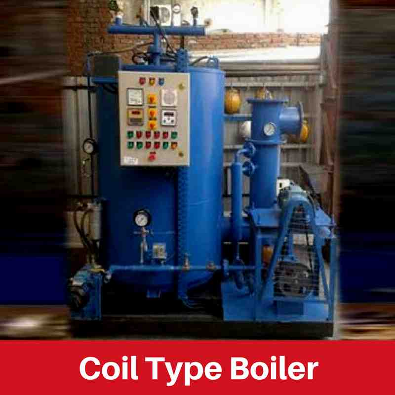 Water Tube Coil Type Boiler: Revosteam [IBR and Non-IBR]