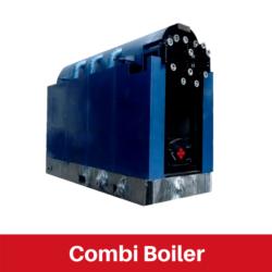 Combi Boiler for Rubber Industry