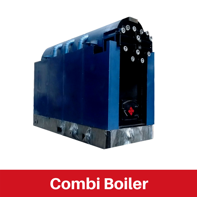 Combi Boiler for Rubber Industry