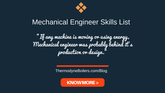Mechanical Engineer Skills List