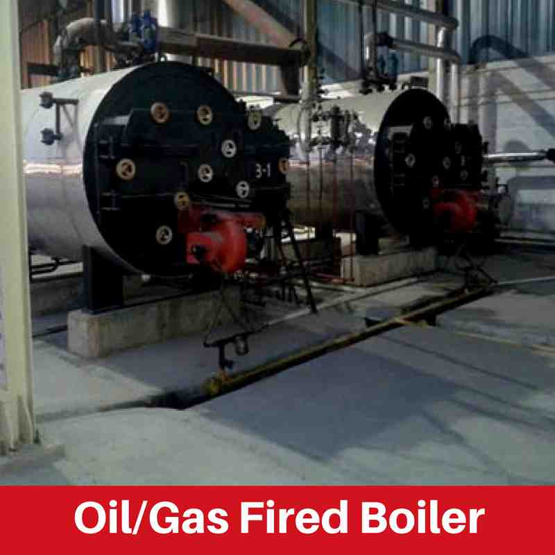 Oil or Gas Fired Boiler