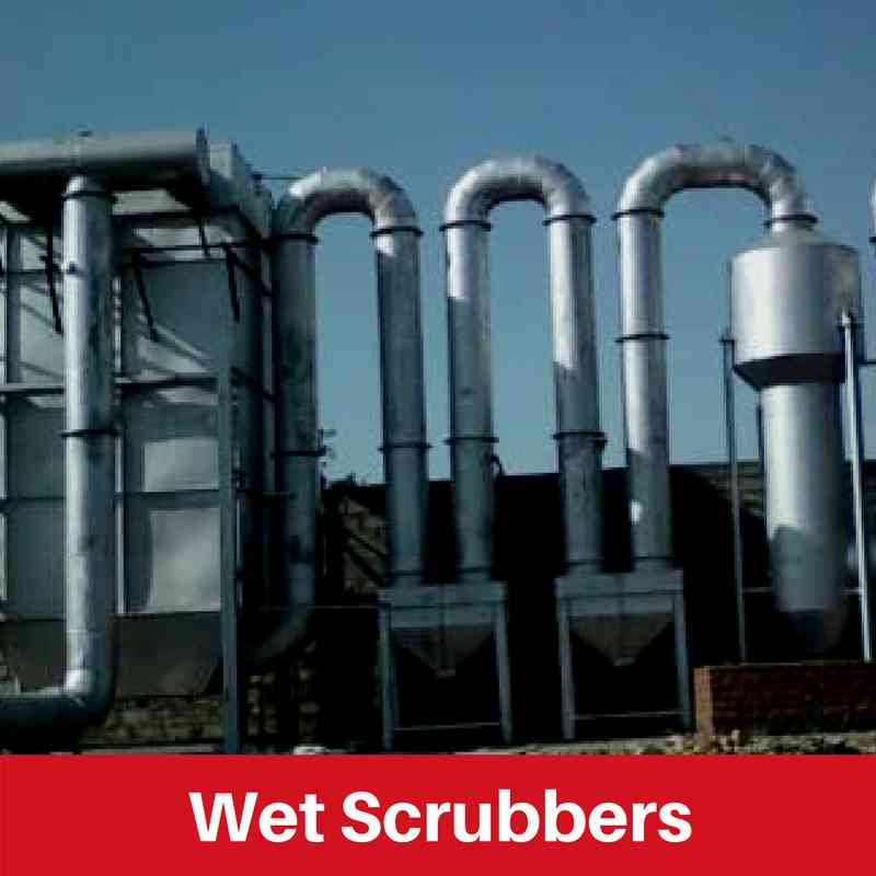 Wet Scrubber Manufacturers in India | Wet Scrubber for
