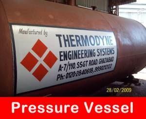 Boiler Pressure Vessel