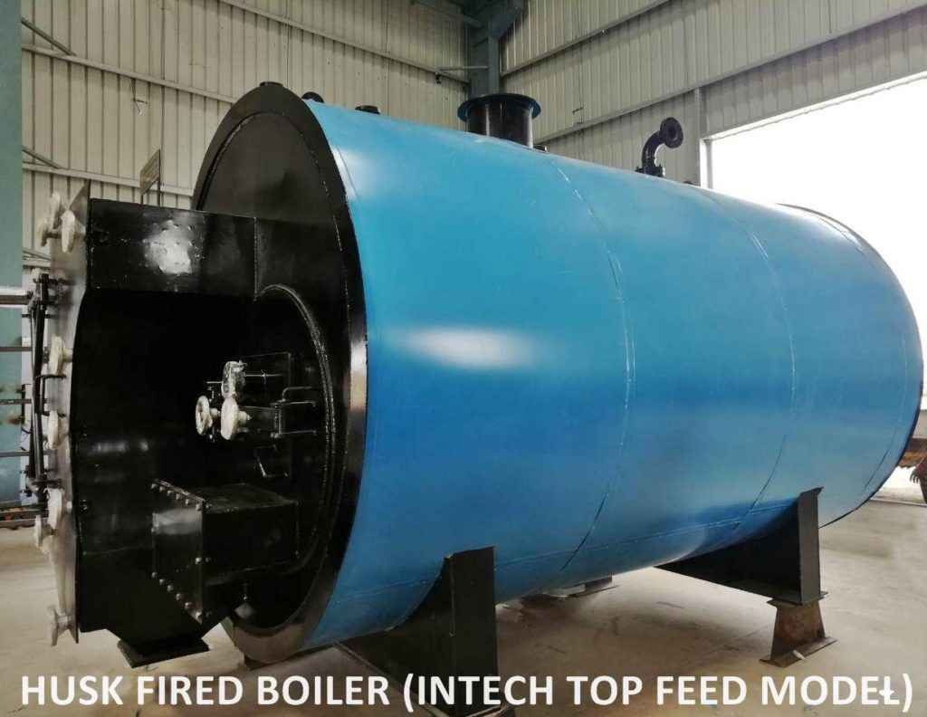 Husk Fired Boiler | Internal Furnace Top Feeding Boilers Types ...