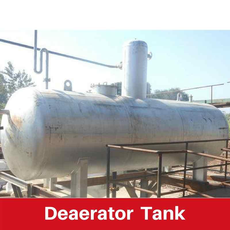 Deaerator tanks