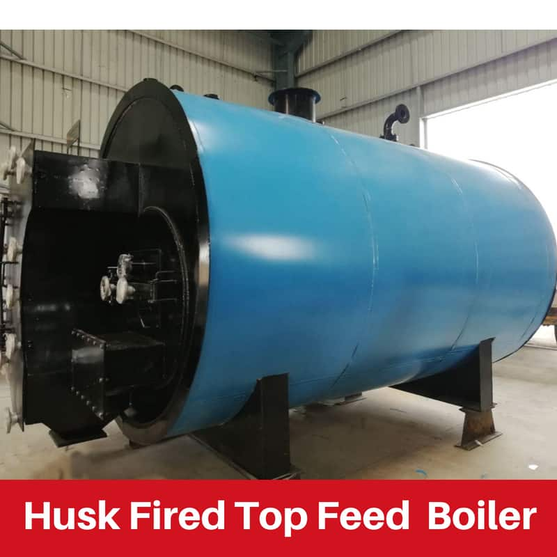 Husk Fired Top Feed Boiler